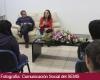 Charla con estudiantes de la Preparatoria de Jocotepec la ganadora del Premio Sor Juana Inés de la Cruz en la FIL 2013