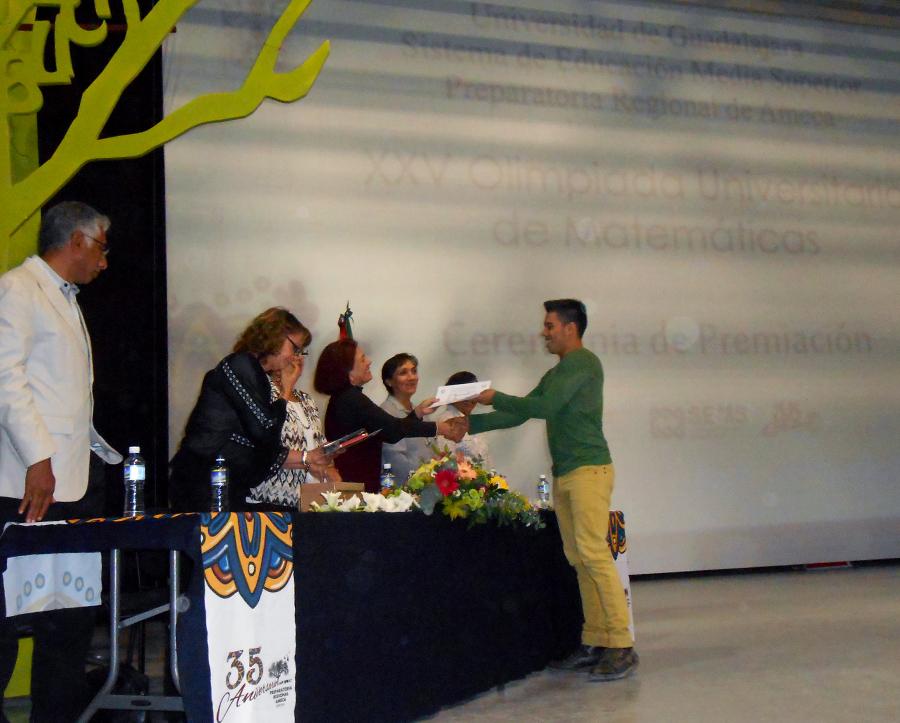 Realiza el SEMS la XXV Olimpiada Universitaria de Matemáticas